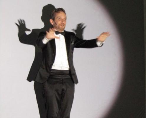 Diego Reinhold presentó su nuevo show .