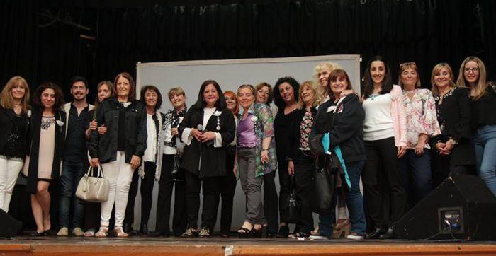 Los integrantes de RC La Veleta de Caballito fueron aplaudidos en el escenario.