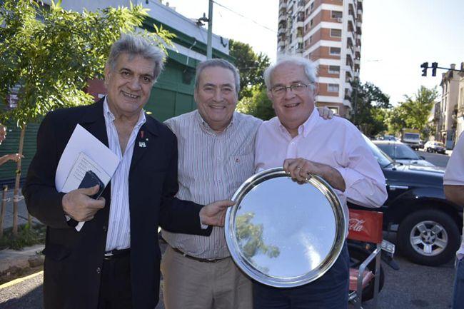 Toto Evangelista, Arnaldo Goenaga y el Arq, Francisco Pancho Spinetto