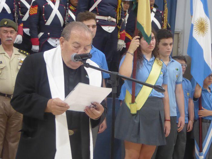 Palabras del Padre Raúl Perrupato.