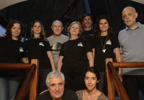 Observatorio Astronómico de Parque Centenario donde la Asociación Argentina de amigos de la Astronomía realizan visitas guiadas.  Fotos Emmanuel Fernández