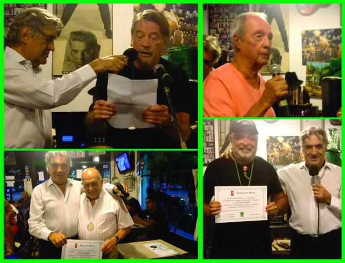 Vecinos reconocidos con La Orden de las Seis Esquinas.