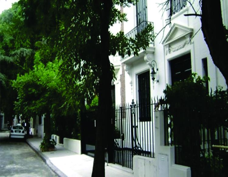 Recorriendo el Barrio Inglés.