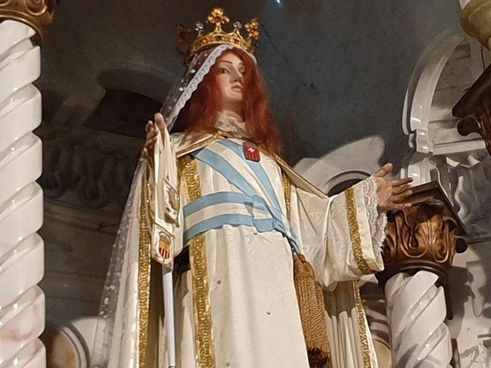 Visita al Camarín de la Virgen.