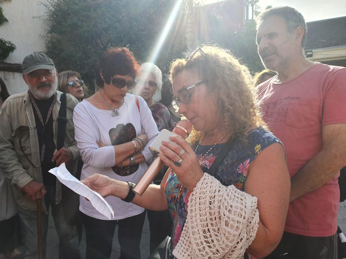 Ana Safar tuvo a su cargo la explicación sobre por qué se recorren las 7 Iglesias el Jueves Santo.
