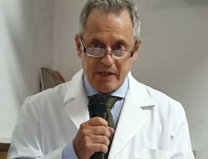 Dr. Horacio Bolla, director del Hospital Durand.