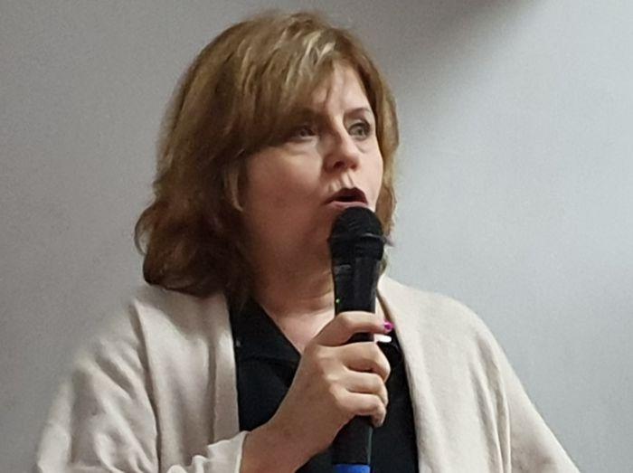 Ministra de Salud de la Ciudad, Dra. Ana María Bou Pérez.