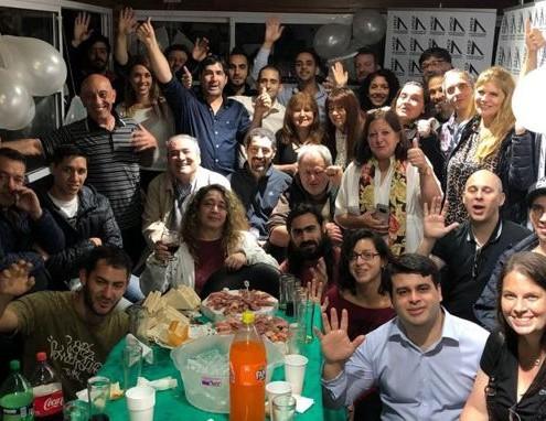 Editores integrantes de AMEP durante la presentación de la Asociación.