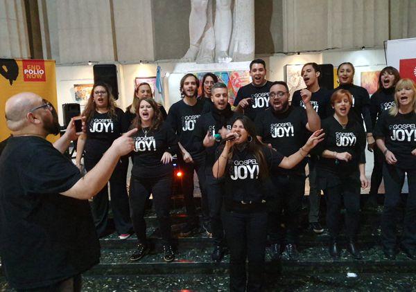 Cerró el encuentro la actuación del Coro Gospel Joy.