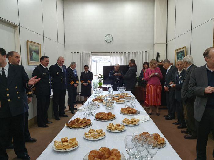 Encuentro de confraternidad de autoridades e invitados