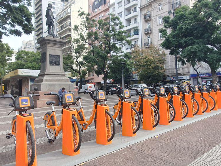 Nueva estación Ecobici en la Plaza Primera Junta-