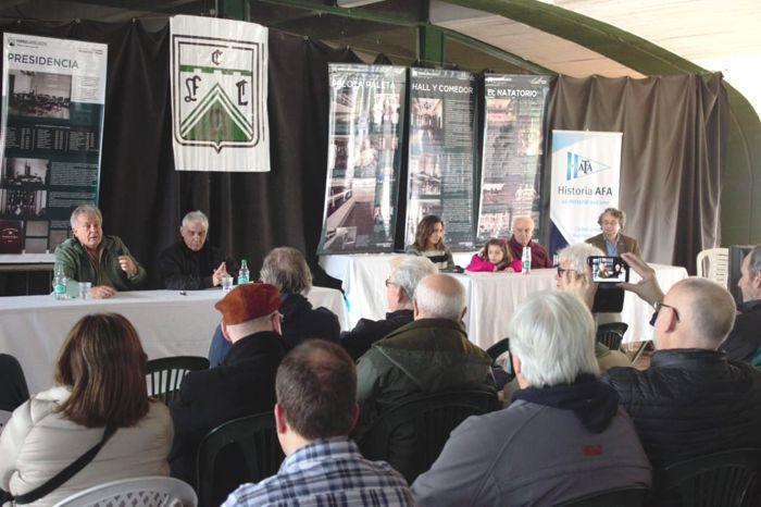 Más de 90 personas asistieron al Primer Encuentro de Historia del Club.