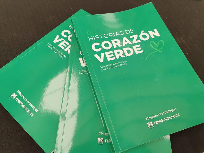 """Presentación del libro """"Corazón Verde"""" ."""