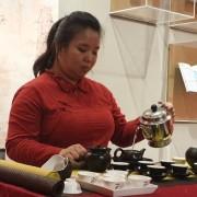 La tradicional Ceremonia del Té a cargo de Mónica Lin