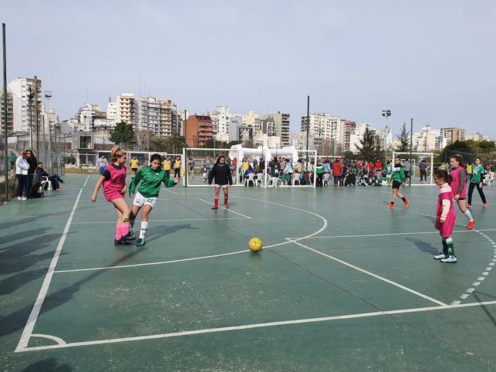 Diferentes actividades deportivas tuvieron lugar durante toda la tarde.