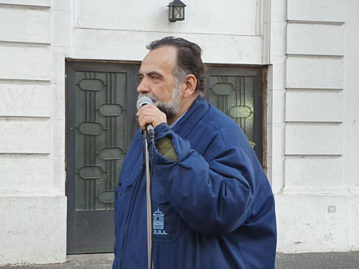 Ernesto Falzone tuvo a su cargo la locución del festejo.