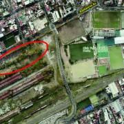 Predio sobre la Av. Avellaneda donde se desarrollará el nuevo proyecto.