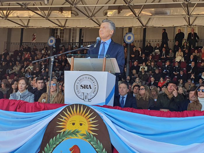 Mauricio Macri manifestó  que quiere una democracia sin mafias y que se recupere la plata robada.