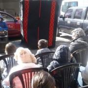 A partir de las 14 hs.  hubo Títeres y Magia en la Plazoleta Luis Perlotti.