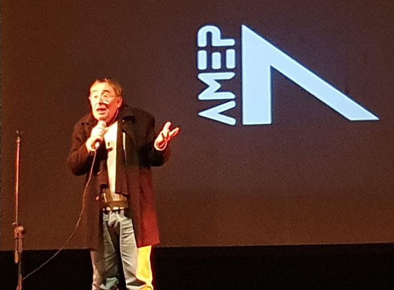 Rafael De Martino durante su exposición.