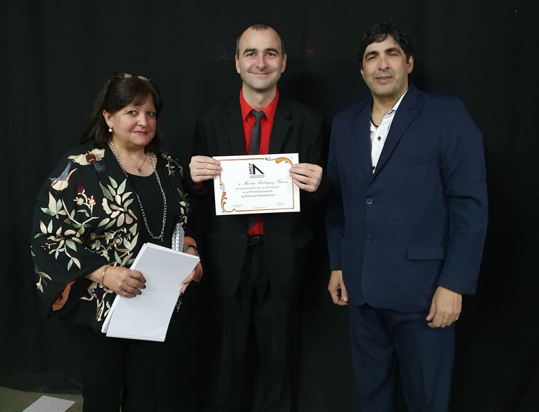 Con Martín Rodríguez Flores, director de Radio El Mundo.
