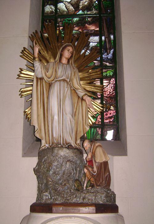 Imagen original de la Virgen de la Misericordia, actualmente en la Parroquia Santa Julia.