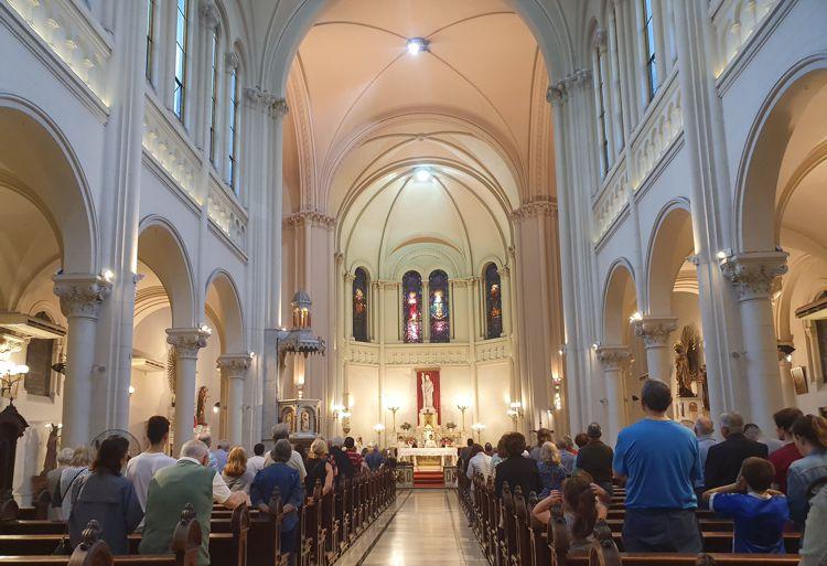 Parroquia Santa Julia, sábado 16 de noviembre.