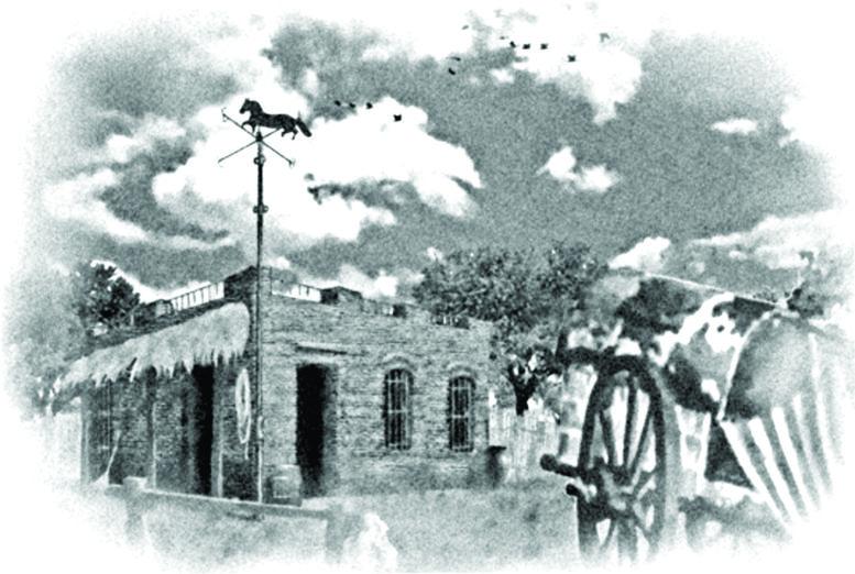 """Original de """"La Pulpería de Caballito"""" de Héctor Núñez Castro."""