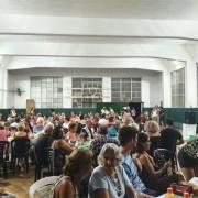 El gimnasio del Club FCO fue el escenario de la cena de los 199 años.