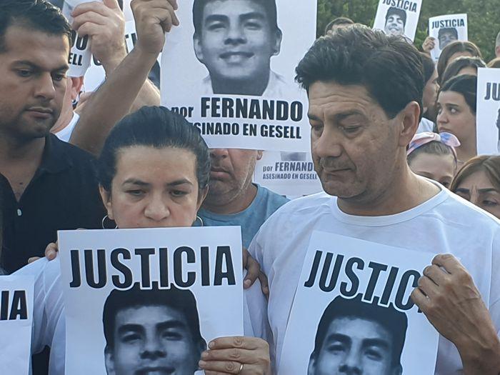 Graciela y Silvino, papás de Fernando.