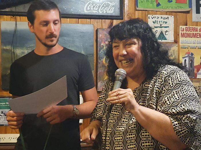 Marita Monteleone, la voz del teléfono, fue otras de las premiadas.