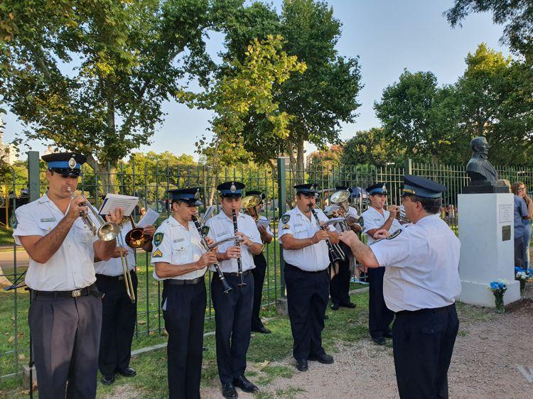 Banda de Música de la Escuela de Cadetes de la Policía Federal Argentina.