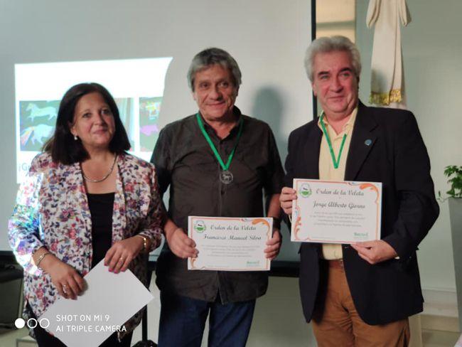Reconocimiento a Jorge Giorno y a Francisco Silva autores de Ley que establece el Día de Caballito.