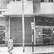 """Emilio Mitre y Rivadavia, Confitería """"El Caballito""""."""