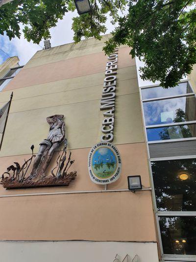 Museo Perlotti, Pujol 644,nueva ubicación de la Veleta en el barrio de Caballito.