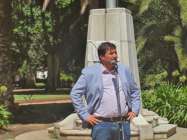 Legislador Ariel Alvarez Palma, se refirió a su barrio, Caballito.