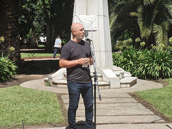 Legislador Martín Ocampo.