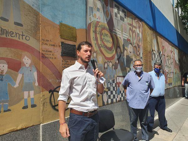 Federico Ballán, presidente de la Junta Comunal, agracedió y felicitó a los vecinos.