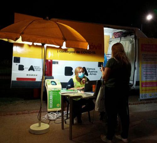 Hasta las 20 hs se puede concurrir a la Unidad Movil del Parque Rivadavia