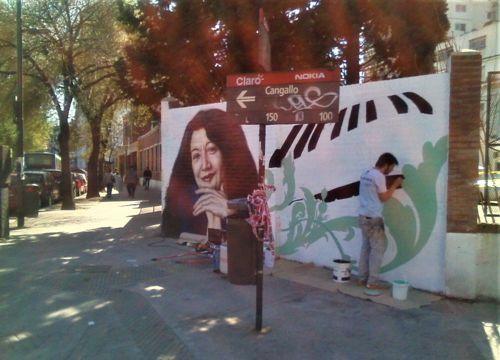 En 2007 fue convocado un artista plástico para hacer un mural homenaje a Martha Argerich en la esquina de P.Argentinas y Cangallo.